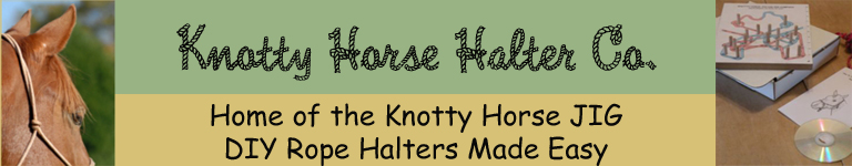 Make your own Rope Halter with the Knotty Horse JIG